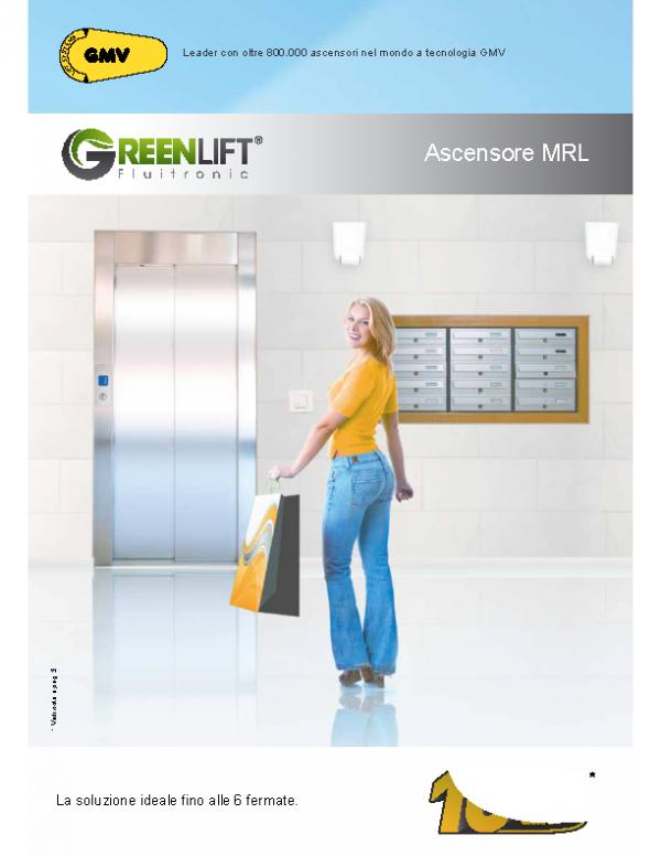 Ascensore idraulico – MRL